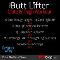 Butt Lifter Workout