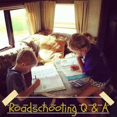 roadschooling, homeschool, rving with kids