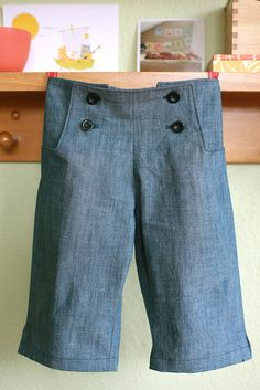 chambray oliver + s sailboat pants