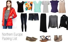 Packing List: Northern Europe. What to bring to Iceland and Finland in the summer