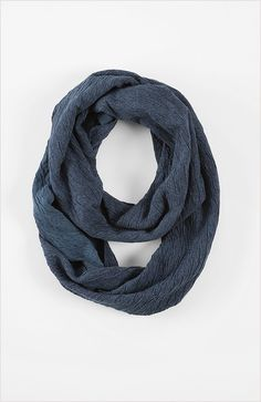 Pure Jill crinkle infinity scarf