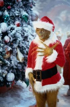 """Jim Carrey in """"How the Grinch Stole Christmas"""""""