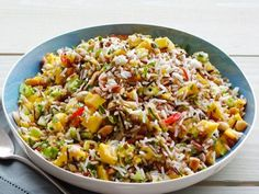 Mango-Cucumber Rice Salad from #FNMag