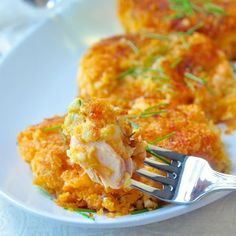 These sweet potato salmon cakes are a great use for leftover salmon and/or sweet potatoes. A creamy potato and salmon center surrounded by crisp panko crumbs outside.