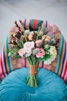 perfect chic wildflower bouquet
