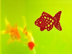 Crochet Goldfish : Crochet a little - free diagram pattern