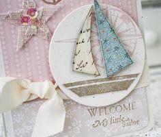 Wmls5 handmad greet, greet card, nautic happi