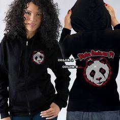 Alpha Omicron Pi Sorority Bling Mascot Beach Hooded Tee $29.95 #sorority #clothing #greek #apparel