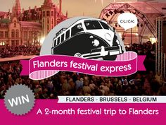 Win a visit to all festivals: Tourism Flanders