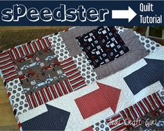 Riley Blake Designs -- Cutting Corners: Speedster Quilt Tutorial #rileyblakedesigns #speedster #quilt #tutorial