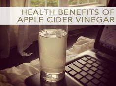 Health Benefits of Apple Cider Vinegar...been trying to drink this daily for my sinuses. It's a bit hard to get down at first, but it really decreased my hunger and made me feel less tired.