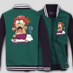 One Piece the funny Chopper logo new baseball hoodie