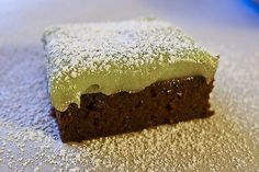 Black Bean Brownies with Creamy Avocado Frosting