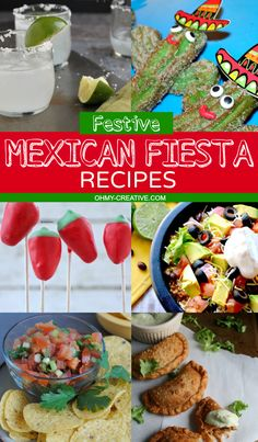 Festive Mexican Fiesta Recipes and Drinks to host the perfect party  | OHMY-CREATIVE.COM