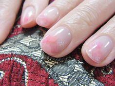 flower petal nails