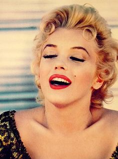 peopl, icon, marilyn monroe, makeup, red lips
