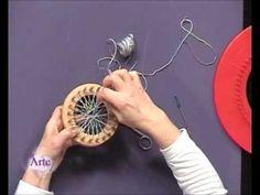 M Cómo tejer un chaleco con telares circulares