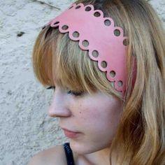 Leather headband\/belt