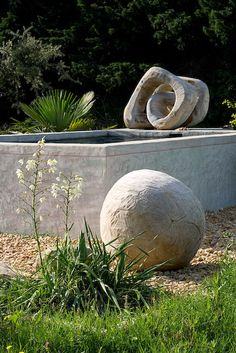 Spheres + sculptures