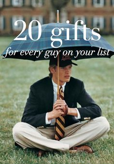 20 gifts for every guy on your list.