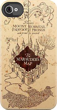 Marauder's Map iPhone case!