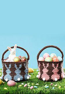 Bunny Egg Basket by Lily / Sugar'n Cream