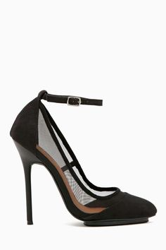 Shoe Cult Veiled Mesh Pump