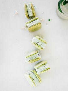 matcha + jasmine mac