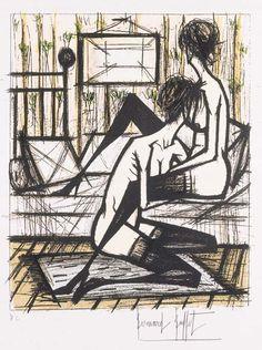 Jeux de Dames, 1970 - Bernard Buffet.