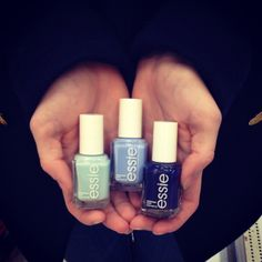 Icy Blues for Winter #Essie