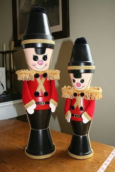 flower pot soldiers w/o how-to