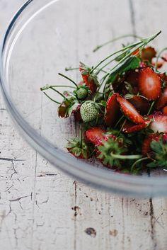 strawberries by Beth Kirby | {local milk}, via Flickr