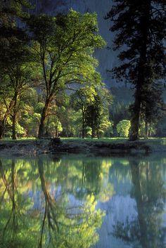 Yosemite Morning Reflection