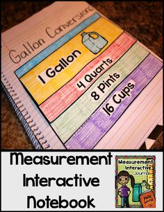 This 52-page product is jam-packed with measurement goodies...  What's Included: *Explanation of Interactive Math Notebooks *Measurement Vocabulary Words *Length, Capacity,  Weight Sorting *Measure It (length-inches) *Drawing Line Segments *Find the Perimeter *Find the Area *Kilograms  Grams Sorting *Milliliters  Liters Sorting *Gallon Conversions *Measurement Estimating *Pick Your Tool *Photos of these interactive math notebook pages