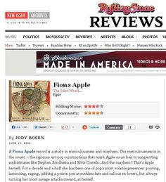 Idler Wheel - Rolling Stone Review