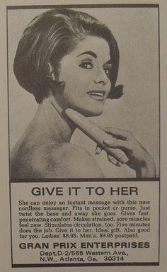 Vibrator vintage advertisement