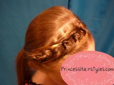 Chain link braid headband