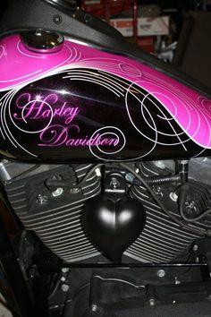 Heart of a biker chick