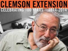 Peter Kent in his Clemson University office. Photographer: Peter Tögel #ClemsonExt100