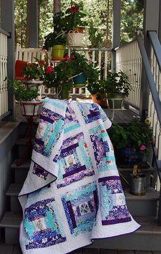 GardenSteps.Draped On Steps by Caribousmom, via Flickr