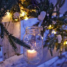 DIY Jar Lanterns by lowescreativeideas #DIY #Jar_Lantern