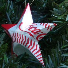 DIY  Aluminum Can Star  TUTORIAL