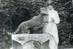 Marchesa Luisa Casati: Famous for walking her pet cheetahs with diamond encrusted leashes through the streets of Venice wearing nothing but a fur coat. Perhaps the most fabulous person EVER.