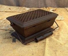 Antique Cast-Iron Heat Box
