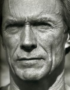 #Clint Eastwood by Herb Ritts