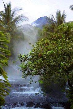 Tabacon  Hot  Springs, Costa Rica.