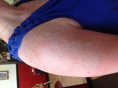 White lace pasily tattoo