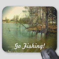 Fishing Spot Go Fishing! from Zazzle.com
