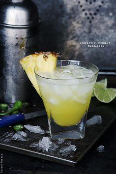 Pineapple Serrano Margarita @Bakers Royale