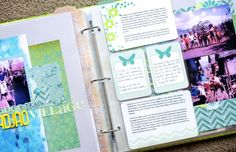 5 Ways to Mix Pocket Pages with Standard Scrapbook Pages by Noell Hyman